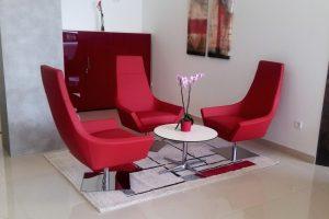 Sala de espera moderna