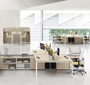 Muebles para entornos laborales