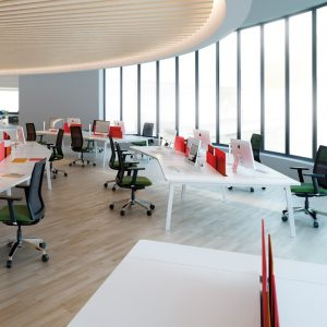 Mesas multipuesto de oficina